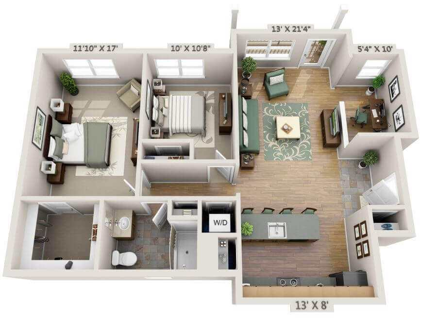 small barndominium floor plans