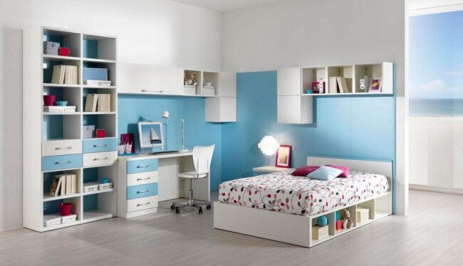 teen girl bedroom ideas for small rooms