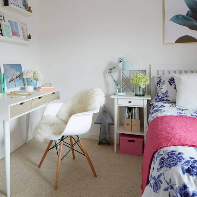 teen girl bedroom themes