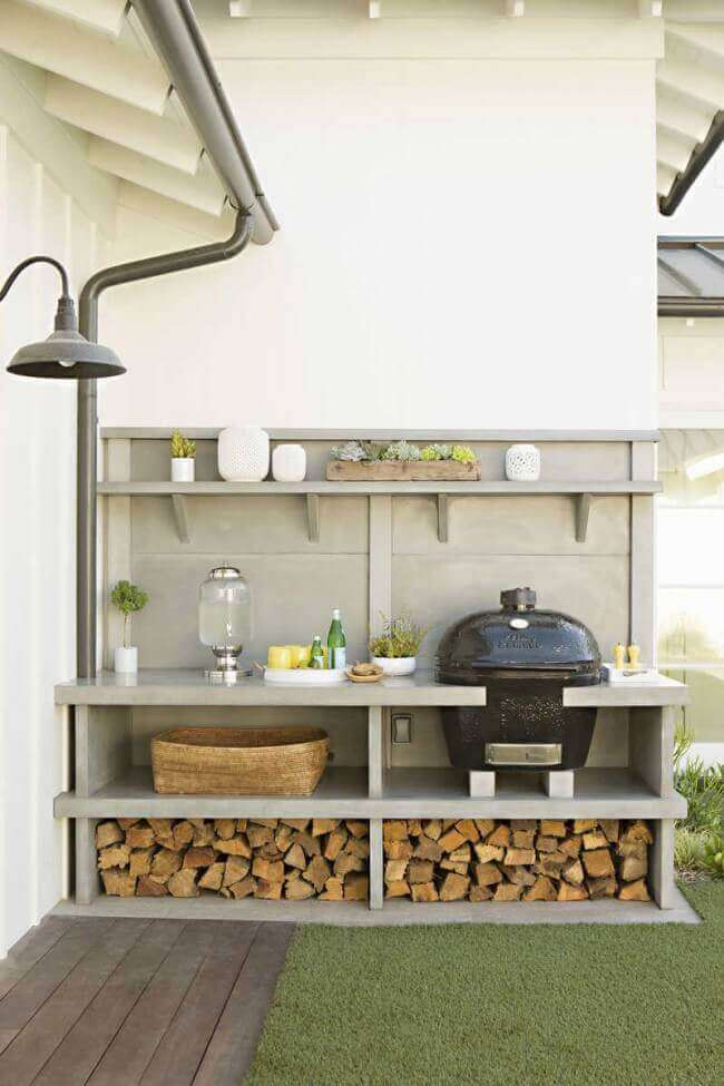 outdoor kitchen ideas small spaces