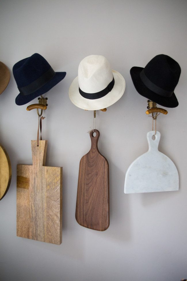 sports hat rack ideas