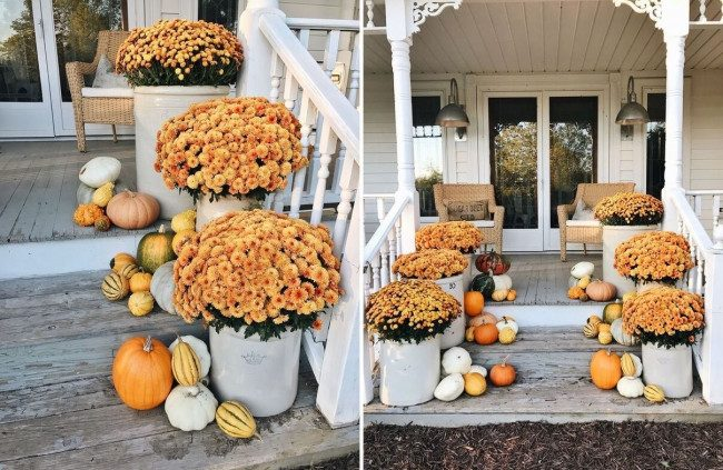 fall porch decor kirklands