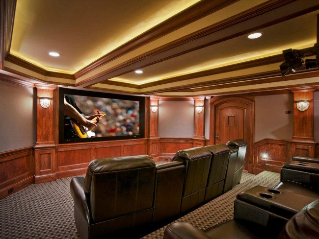 attic media room ideas