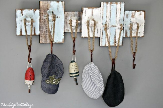 hat rack design ideas