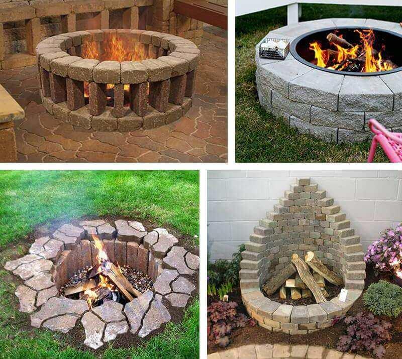 ️ 13 Inspiring DIY Fire Pit Ideas to Improve Your Backyard