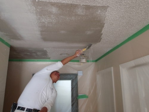 Easiest Tips For Painting Popcorn Ceilings  Home Decor