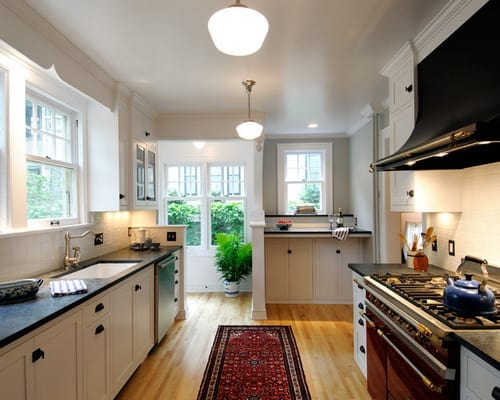Most Popular Layouts Galley Style Kitchen Design