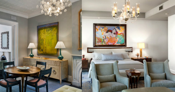 Modern Art In Traditional Rooms – Home Decor Ideas