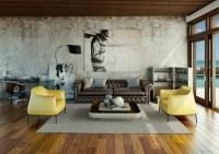 Modern Living Room Arc Lamp Design Ideas