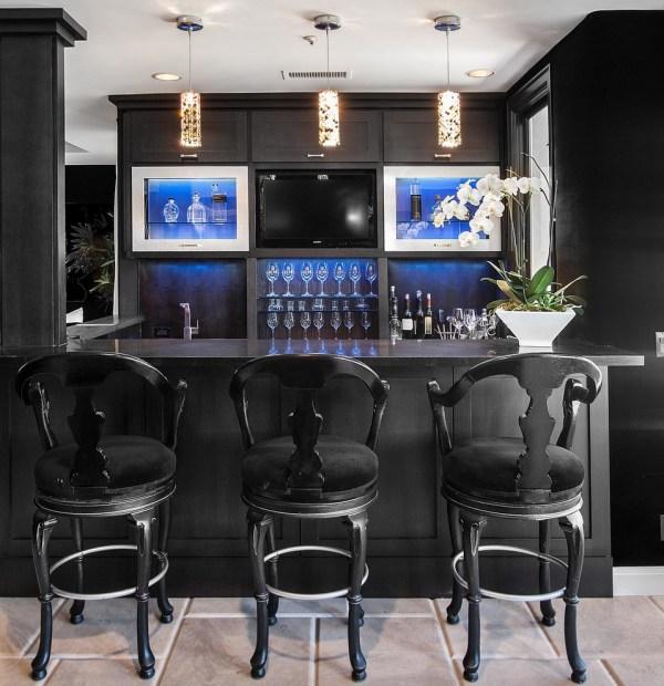 Contemporary Home Bar Designs