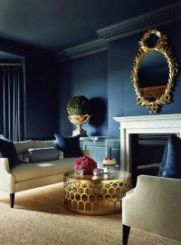 Navy Blue Inspirations for Spring | Home Decor Ideas