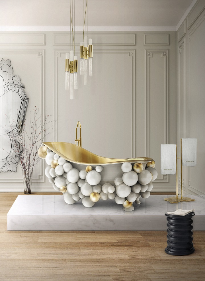The Most Expensive Luxury Bathrooms With White Accents