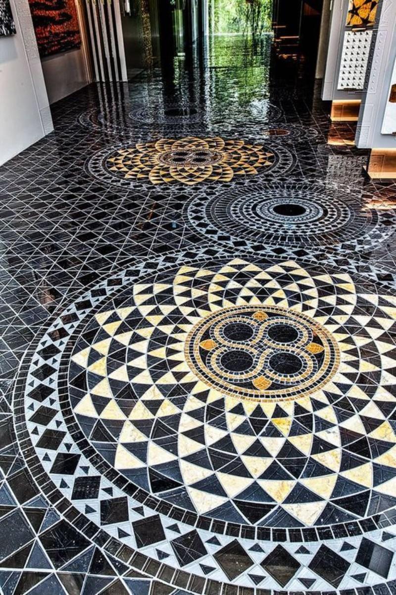 tiles design for outdoor floor