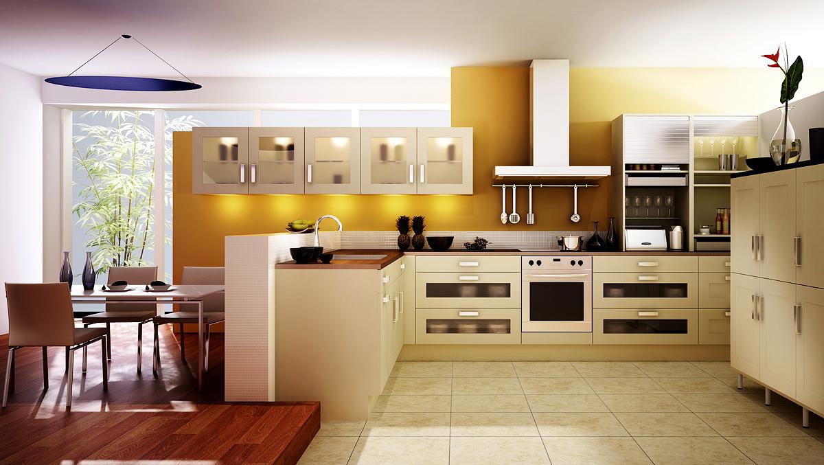 L Shaped Kitchen Island Layout