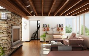 living wallpapers modern feature