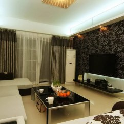 Latest Living Room Wallpaper Designs Ideas Navy Blue Sofa Wallpapers For Design In Uk Modern