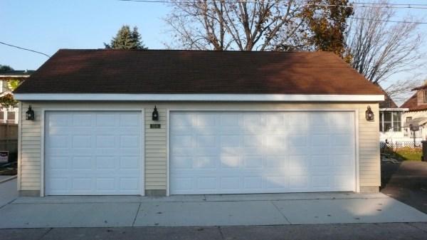 Standard 2 Car Garage Door Size