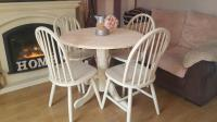Top 50 Shabby Chic Round Dining Table and Chairs - Home ...