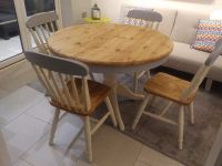 Top 50 Shabby Chic Round Dining Table and Chairs