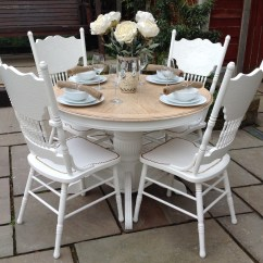 Shabby Chic Chair Swivel Egg Top 50 Round Dining Table And Chairs Home