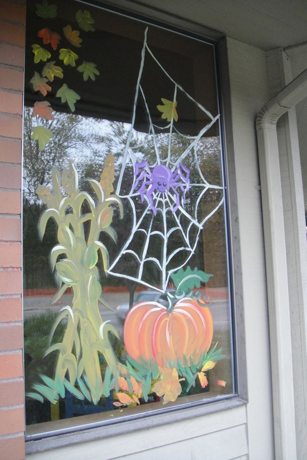 Scary But Creative Diy Halloween Window Decorations Ideas You Should Try 47 Homedecorish
