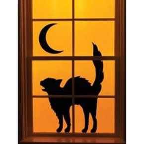 Scary But Creative DIY Halloween Window Decorations Ideas You Should Try 71