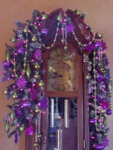 Adorable Pink And Purple Christmas Decoration Ideas 03