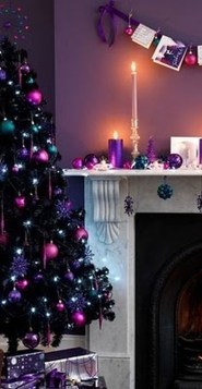 Adorable Pink And Purple Christmas Decoration Ideas 26