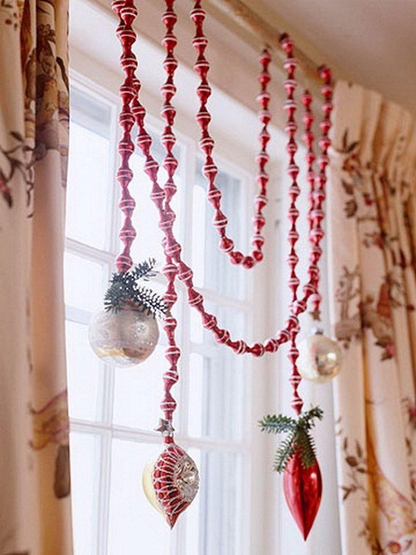 Adorable Rustic Christmas Kitchen Decoration Ideas 38