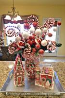 Adorable Rustic Christmas Kitchen Decoration Ideas 62