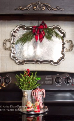 Adorable Rustic Christmas Kitchen Decoration Ideas 80