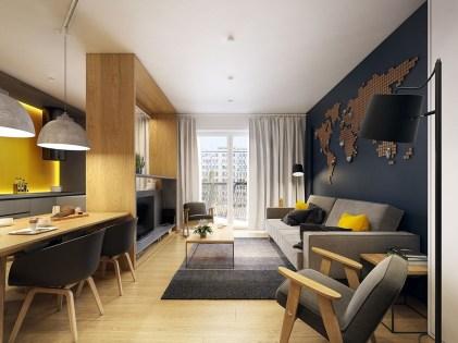 Cozy Scandinavian Interior Design Ideas For Your Apartment 20