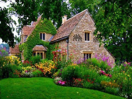 Cozy And Relaxing Country Garden Decoration Ideas You Will Totally Love 12