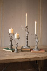 Creative DIY Christmas Candle Holders Ideas To Makes Your Room More Cheerful 04
