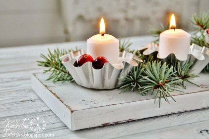 Creative DIY Christmas Candle Holders Ideas To Makes Your Room More Cheerful 47