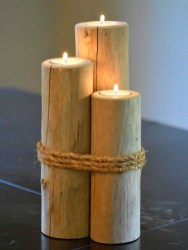 Creative DIY Christmas Candle Holders Ideas To Makes Your Room More Cheerful 48
