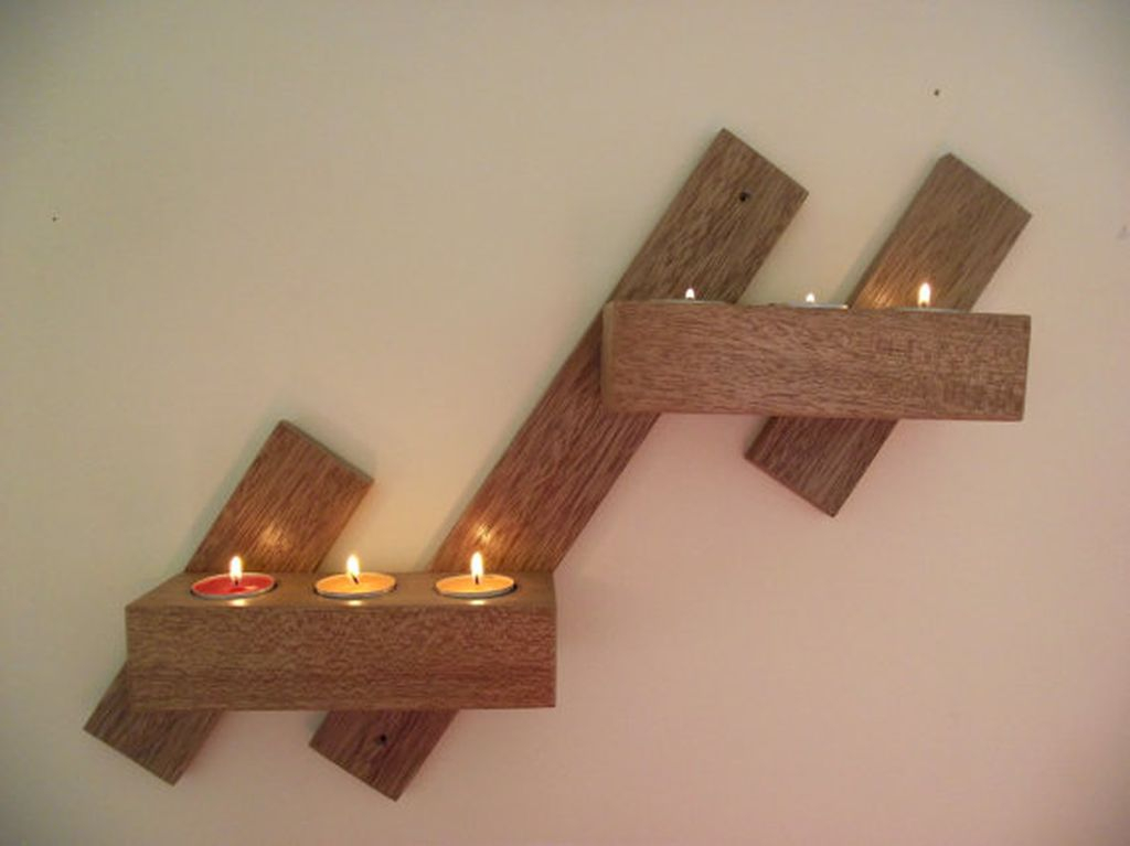Creative DIY Christmas Candle Holders Ideas To Makes Your Room More Cheerful 64