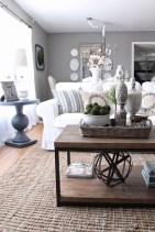 Creative DIY Shabby Chic Decoration Ideas For Your Living Room 40