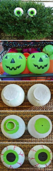 Creepy But Creative DIY Halloween Outdoor Decoration Ideas 51