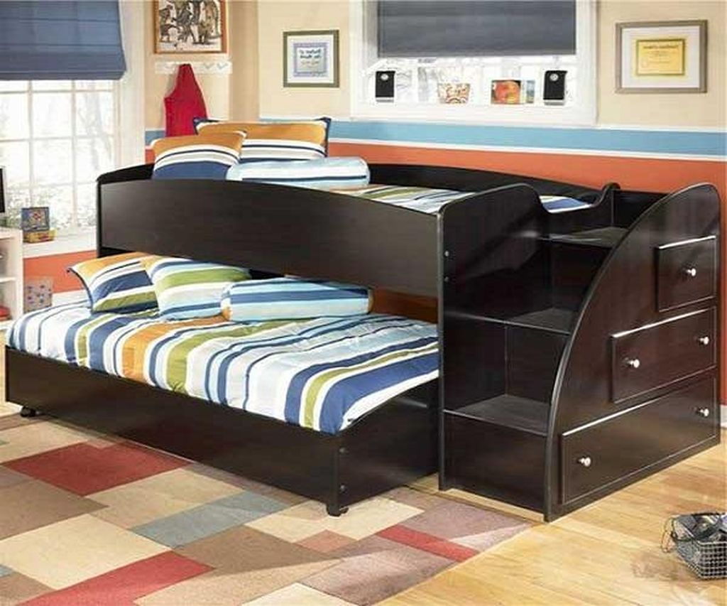 Cute Boys Bedroom Design Ideas For Small Space 56