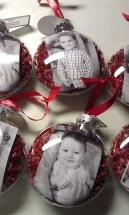 Easy And Creative DIY Photo Christmas Ornaments Ideas 01