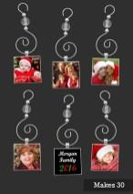 Easy And Creative DIY Photo Christmas Ornaments Ideas 07