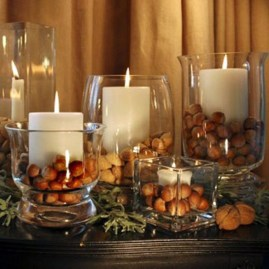 Easy And Simple Christmas Table Centerpieces Ideas For Your Dining Room 07