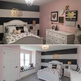 Elegant Teenage Girls Bedroom Decoration Ideas 22