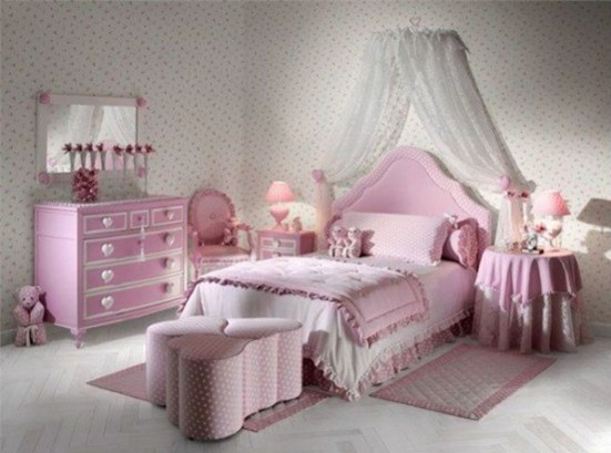 Elegant Teenage Girls Bedroom Decoration Ideas 25