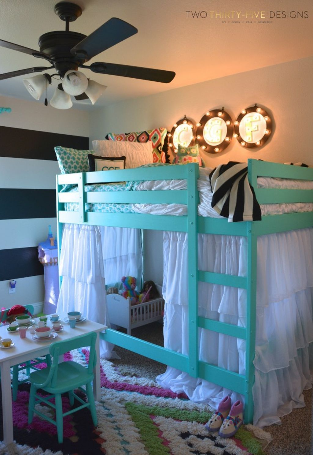 Elegant Teenage Girls Bedroom Decoration Ideas 40