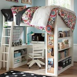 Elegant Teenage Girls Bedroom Decoration Ideas 43