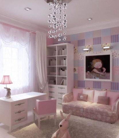 Elegant Teenage Girls Bedroom Decoration Ideas 67