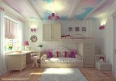 Elegant Teenage Girls Bedroom Decoration Ideas 77