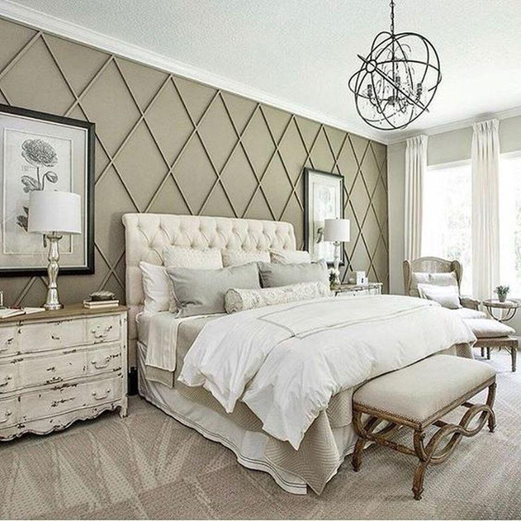 Gorgeous Vintage Master Bedroom Decoration Ideas 45